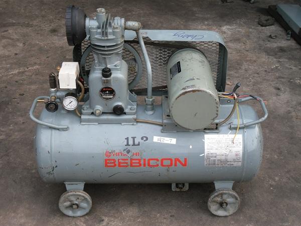 bán máy nén khí cũ Hitachi 1 pha 1 hp