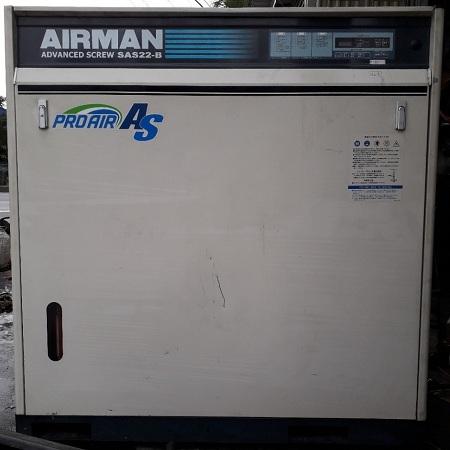 bán máy nén khí cũ Airman Nhật Bản 22 kw có sấy