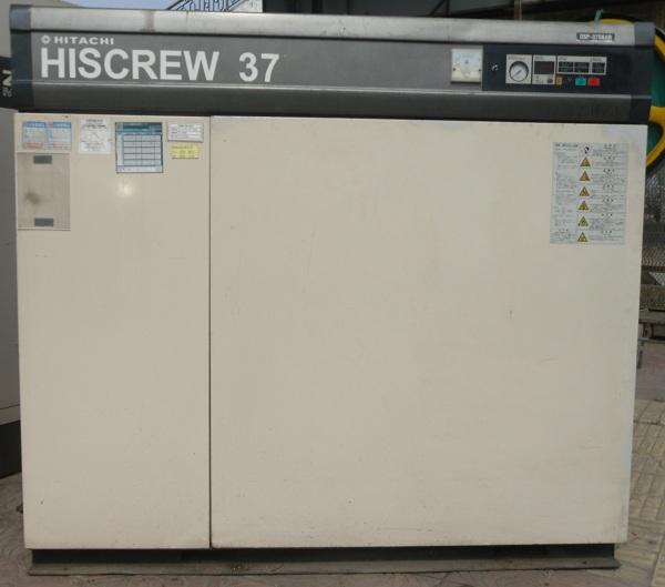 máy nén khí trục vít Hitachi 37 kw Nhật Bản