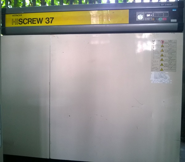 bán máy nén khí trục vít Hitachi nhật bản đời cao