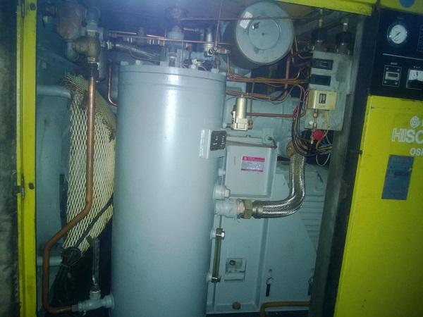 máy nén khí hitachi lưu lượng 9 m3/phút