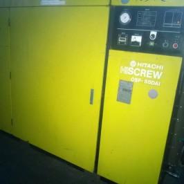 Máy nén khí trục vít Hitachi 55 kW