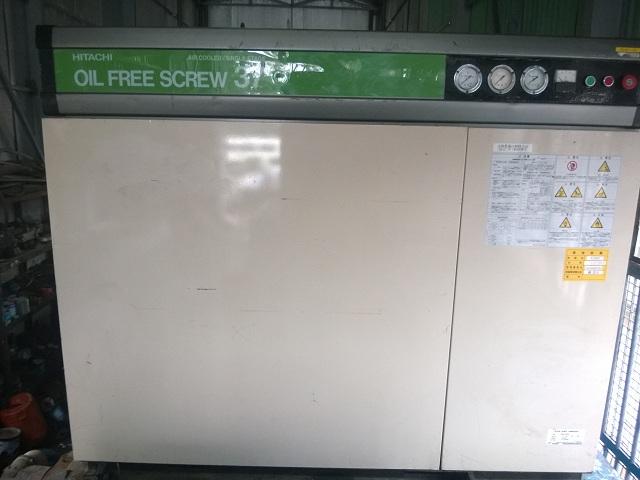 cung cấp máy nén khí hitachi trục vít không dầu
