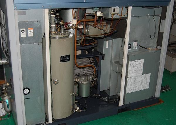 máy nén khí trục vít cũ nhập khẩu nhật bản