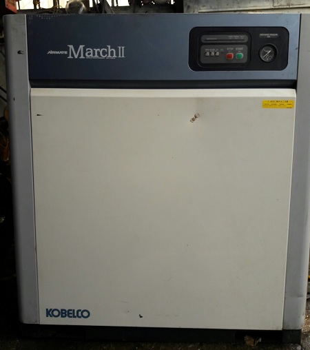 bán máy nén khí trục vít kobelco airmate march ii cm11bd-5