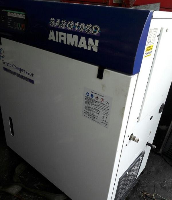 bán máy nén khí cũ Airman SASG19SD