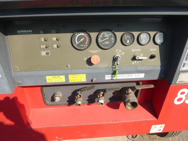 Bảng điều khiển máy nén khí Airman PDS655S