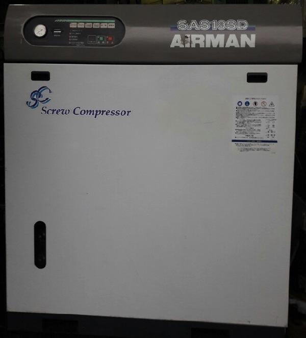 máy nén khí trục vít Airman đời cao giá rẻ, nhật bản