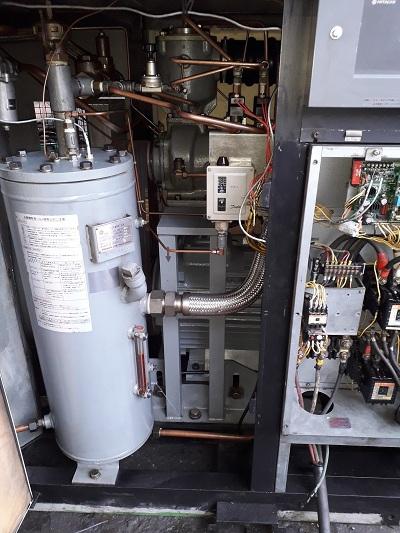 bán máy nén khí cũ hàng bãi, Nhật Bản 55 kW