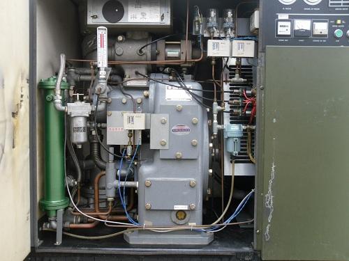 Bán máy nén khí trục vít hitachi 45kw