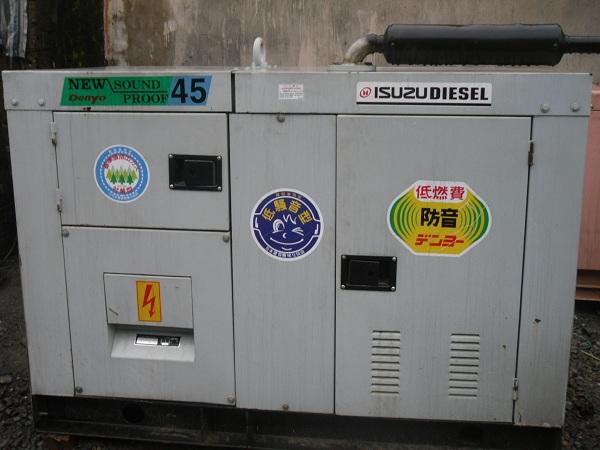 bán các loại máy phát điện cũ nhập khẩu nhật bản