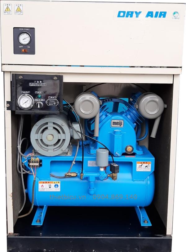 bán máy nén khí 1 pha giá rẻ meiji 2.2 kw 3 Hp