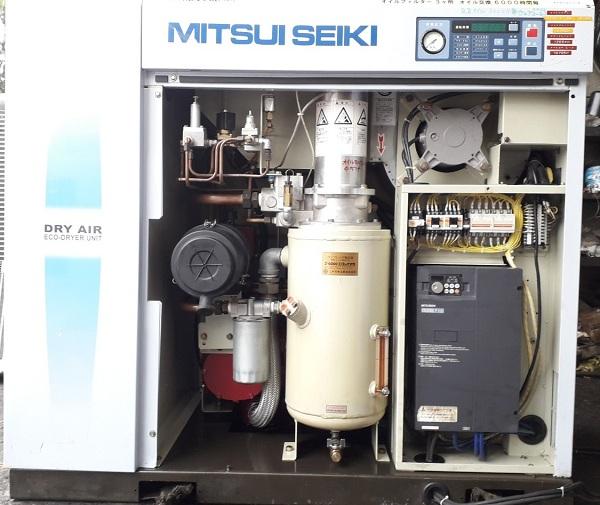 máy nén khí cũ đời cao 15kw có sấy