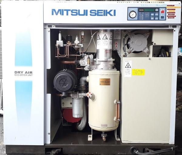 máy nén khí cũ Nhật bản hiệu Mitsui seiki 15 kw
