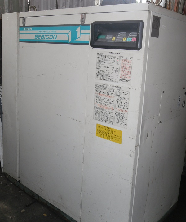 bán máy nén khí không dầu Hitachi