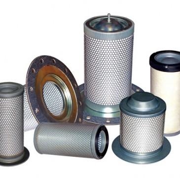 Cấu tạo và nguyên lý hoạt động của bộ phận lọc tách dầu-khí của máy nén khí