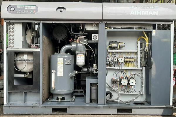 bán máy nén khí cũ 55 kw airman giá rẻ, hàng chất lượng, bảo hành toàn quốc