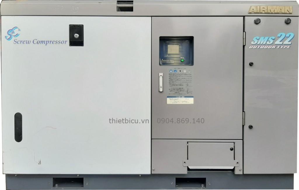 máy nén khí trục vít ngâm dầu có sấy khí dryer