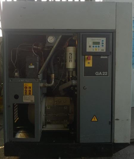 bán máy nén khí trục vít Atlas Copco