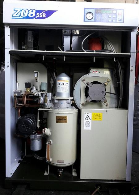 máy nén khí trục vít cũ nhập khẩu Mitsui seiki