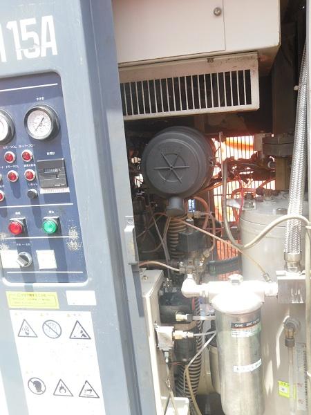 bán máy nén khí cũ may nen khi cu mitsui seiki