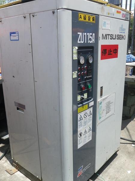 bán máy nén khí cũ may nen khi cu mitsui seiki không dầu
