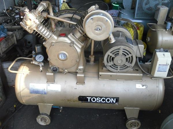 Bán máy nén khí cũ Toshiba 3.7kw