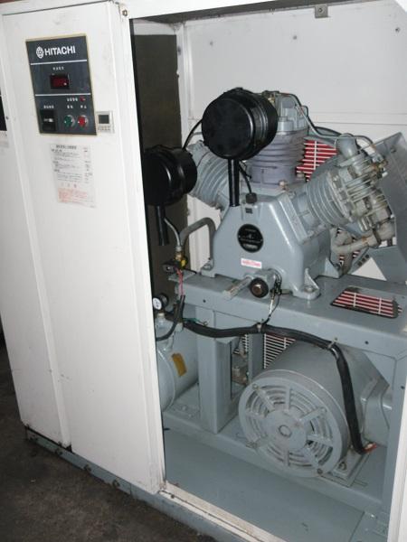 bán máy nén khí hitachi 2 cấp có thùng cách âm