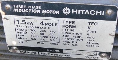 Máy nén khí hitachi Bebicon cũ, máy nén khí cũ, may nen khi cu, máy nén khí nhật bản