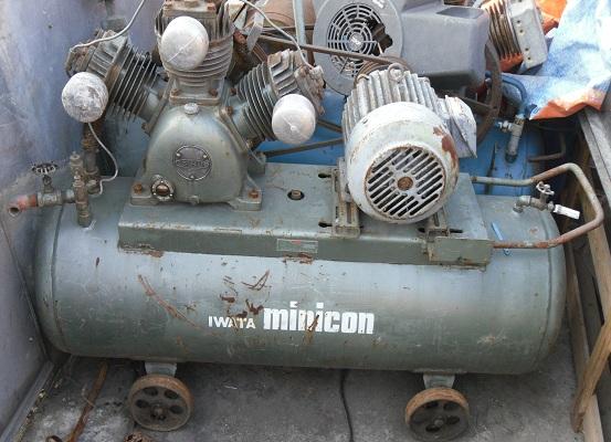 máy nén khí iwata cũ, may nen khi nhat ban cu, may nen khi, máy nén khí, air compressor
