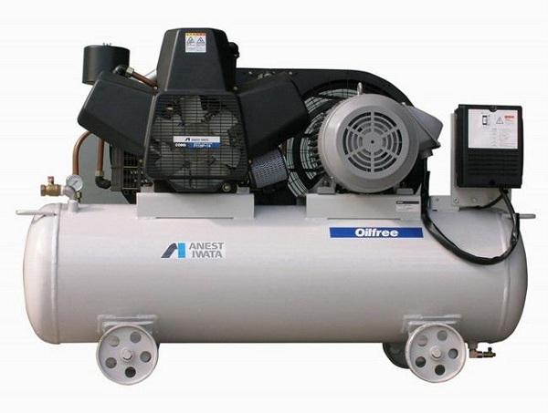 Bán máy nén khí cũ không dầu may nen khi cu khong dau