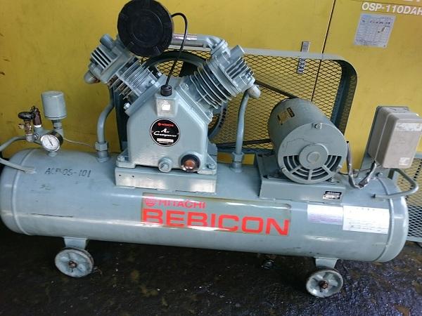 bán máy nén khí piston Hitachi Bebicon công suất 2.2 kw hàng cũ nhật bản