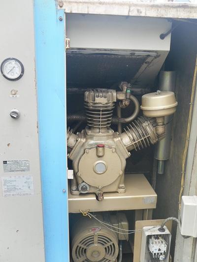 Máy nén khí cũ, máy nén khí có thùng cách âm