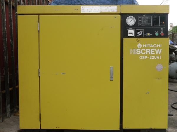 bán máy nén khí trục vít Hitachi đã qua sử dụng, may nen khi truc vit cu