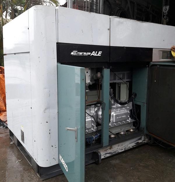 bán máy nén khí trục vít không dầu nhật bản giá rẻ