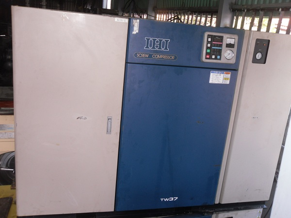 bán máy nén khí cũ IHI 37 kW