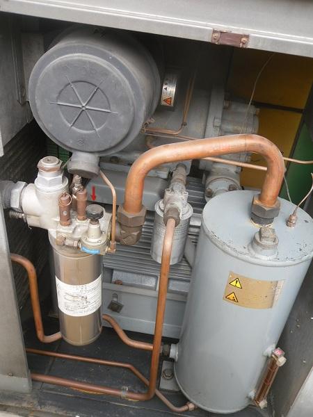 máy nén khí trục vít cũ 50 Hp ngựa