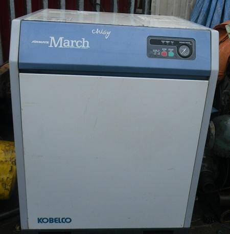 bán máy nén khí trục vít Kobelco Nhật Bản đã qua sử dụng, bán máy nén khí cũ