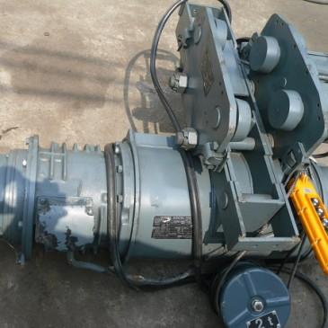Tời điện cũ Hitachi sức nâng 2 tấn